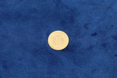 1 pièce en or de 20 Francs Tunisie 1904 A....