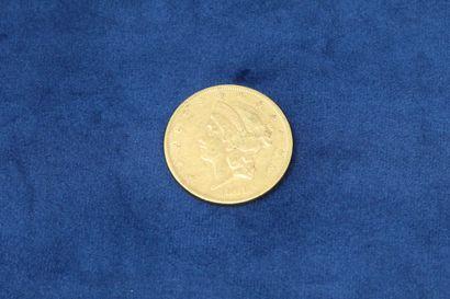 1 pièce en or de 20 dollars