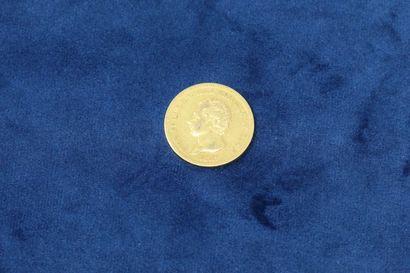 1 pièce en or de 40 Lire Charles Félix 1825.....