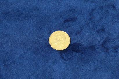 1 pièce en or de 20 Francs Louis Philippe...