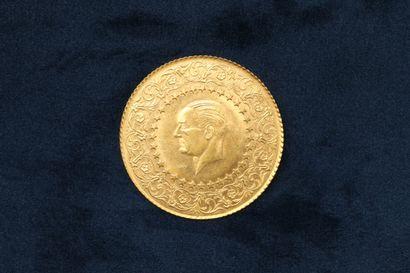 OB Pièce en or de 250 Kurus (Gold Bullion...