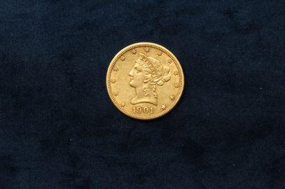 Pièce en or de 10 dollars