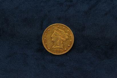 1 ten dollar gold coin