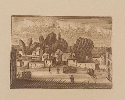GALANIS Dimitrios Emmanuel, attribué à,  Illustrations,...