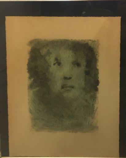FINI Leonor (1907-1996)  Visage féminin,...