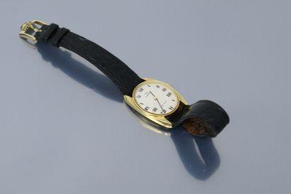 OMEGA  Montre bracelet, boîtier en or jaune...