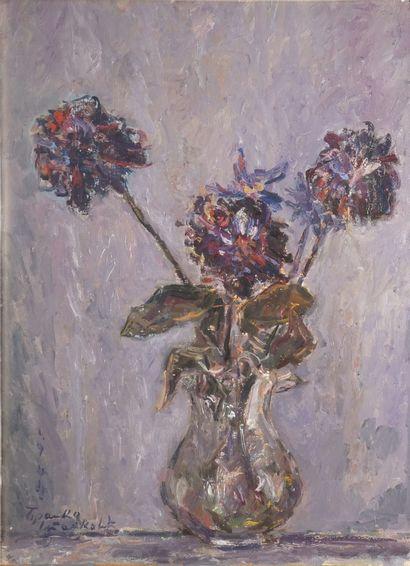 STANKOVIC Branko Lale, 1915-1989,  Bouquet,...