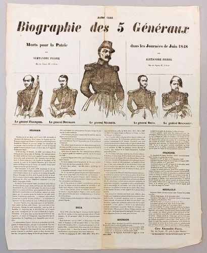 [ Militaria ] [ Seconde République ]  Affiche...