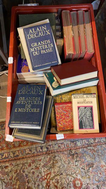 Manette, lot de livres divers.