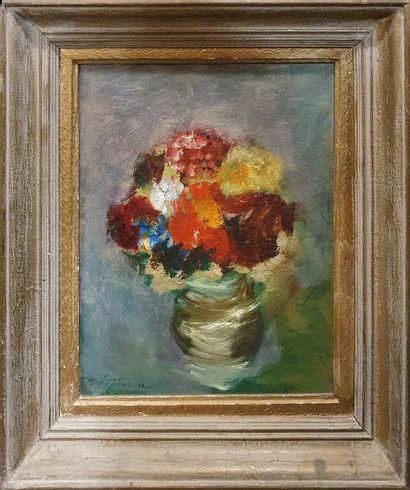 SIOTESCU E., XXe siècle,  Bouquet, Paris...