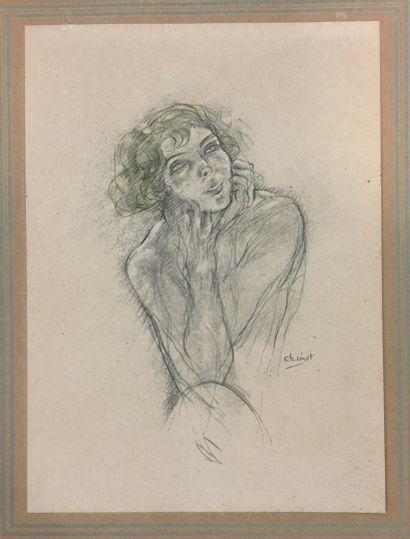 CHIMOT Edouard Jules (1880-1959)  Nus,  5...