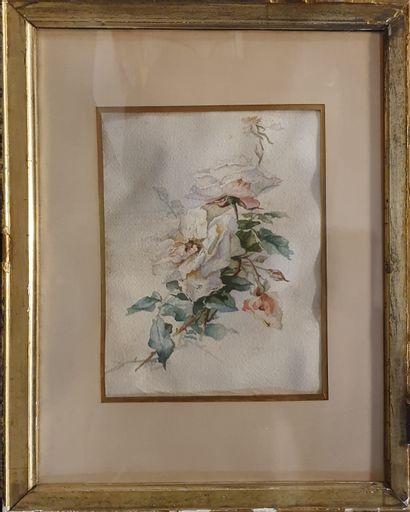 YVERT Marie Hector (1808-?)  fleurs, novembre...