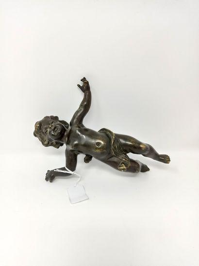 Elément décoratif pour ameublement en bronze...