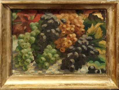 VAUQUELIN Albert, 1895-1954,  Le raisin,...