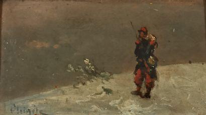 CHIGOT Alphonse, 1824-1917, entourage de,...