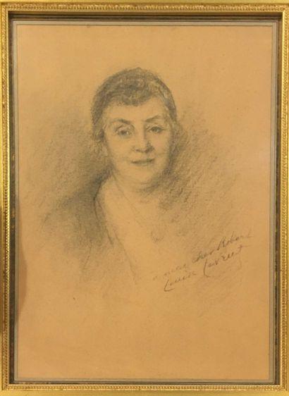 LAUVRUT Louise (1874-c.1956)  portrait de...