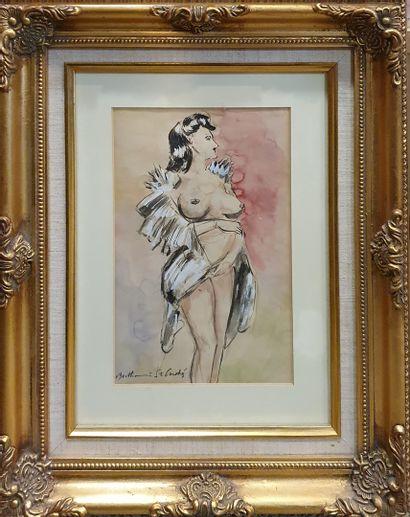 SAINT-ANDRÉ Berthommé (1905-1977)  Femme...