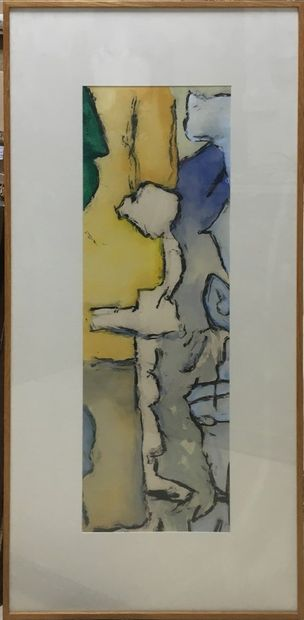 DOURNON Jean-Jacques (né en 1953)  Composition...