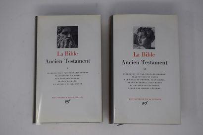 BIBLIOTHEQUE DE LA PLEIADE  LA BIBLE - ANCIEN...