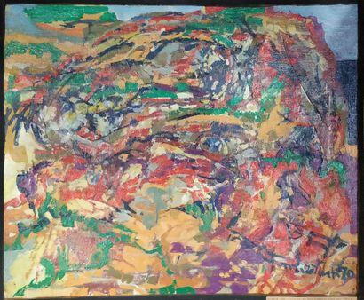 TATUM Mary (1925-1997)  Landscape heads,...