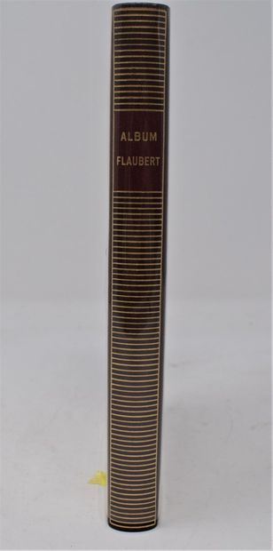 BIBLIOTHEQUE DE LA PLEIADE  Album FLAUBERT. Bibliothèque de la Pléiade, Paris, reliure...