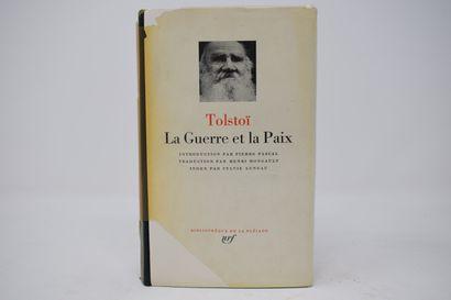 BIBLIOTHEQUE DE LA PLEIADE  TOLSTOÏ Léon...