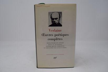BIBLIOTHEQUE DE LA PLEIADE  VERLAINE Paul...