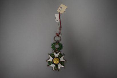 Etoile de chevalier de la Légion d'honneur...