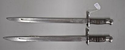 Lot de deux baïonnettes Remington US 1917....