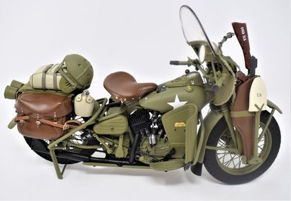 HARLEY DAVIDSON WLA Military motorcycle 1942....