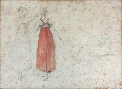 VERNET Carle  (Bordeaux, 1758 - Paris, 1836)...