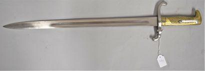 Sabre-baïonnette Mauser 1871, belle lame...