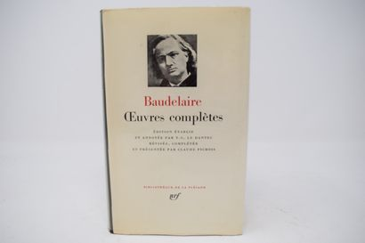 BIBLIOTHEQUE DE LA PLEIADE  BAUDELAIRE Charles 1 vol. : oeuvres complètes. Bibliothèque...