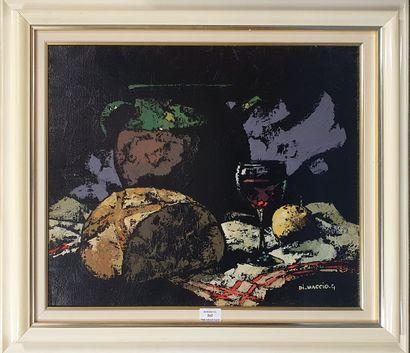 DI MACCIO Gérard, né en 1938,  Miche de pain...