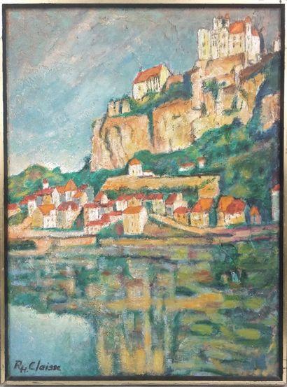 CLAISSE Robert-Henri (né en 1920)  Beyssac,...