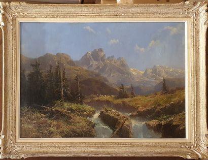 GODCHAUX, XIXe siècle-XXe siècle,  Torrent...