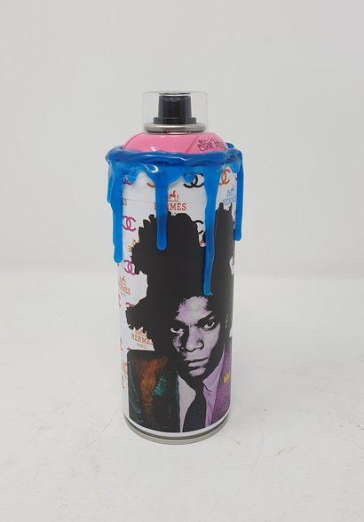 SNEAK (né en 1979)  Basquiat  Technique mixte...