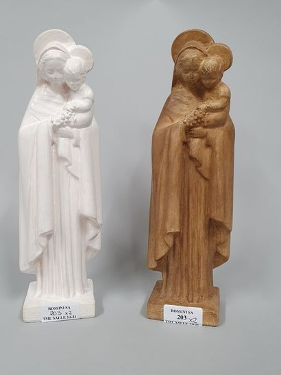 HARTMANN Jacques (1908-1994)  Vierges à l'enfant...