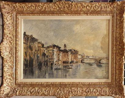 DUFEU Édouard Jacques, 1836-1900,  Florence,...
