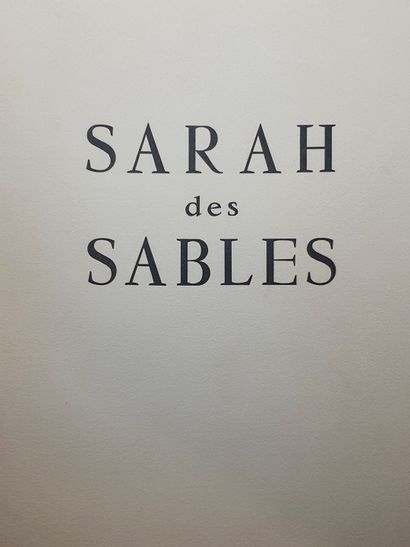 AMBROGIANI Pierre & AUDOUARD Yvan  Sarah des sables.  Textes de Yvan Audouard illustré...