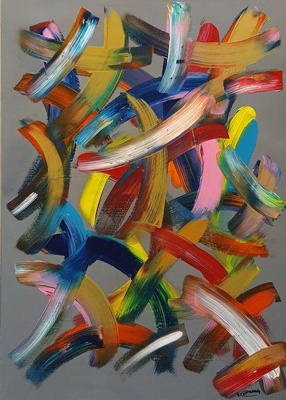 STERVINOU Michaël (né en 1982)  Amours vénitiennes,...