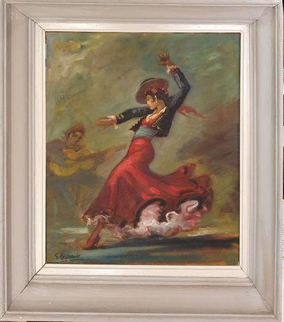 REGNAULT Georges (1898-1979)  Danseuse de...