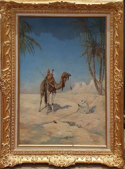 FORTUNIO, XIXe-Xxe siècle,  Le repos du chamelier,...