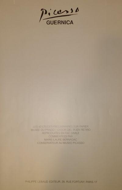 PICASSO Pablo & BERNARDAC Marie-Laure  Guernica  Commentaires de Marie-laure Bernardac,...