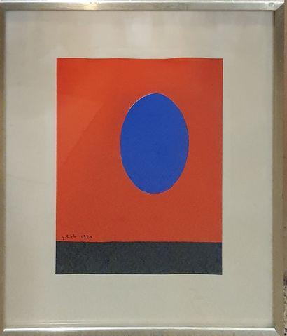 GILIOLI Emile (1911-1977)  Composition sur...
