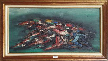 BOSCO Pierre, 1909-1993,  La course de chevaux,...