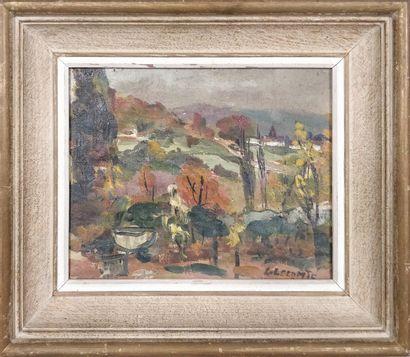LE COMTE Léopold (1890-1963)  Cavaillon,...