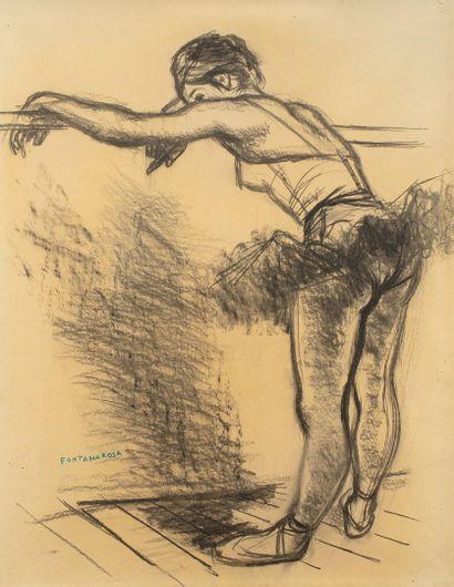 FONTANAROSA Lucien Joseph, 1912-1975,  Danseuse...