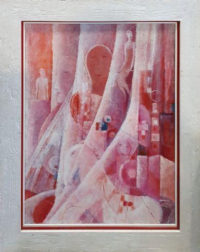 HUSARIKOVA Jindra (1931-2016)  Composition...
