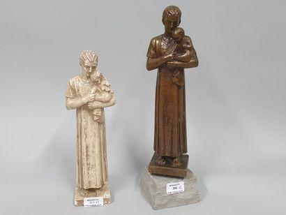 HARTMANN Jacques (1908-1994)  Joseph et l'enfant...